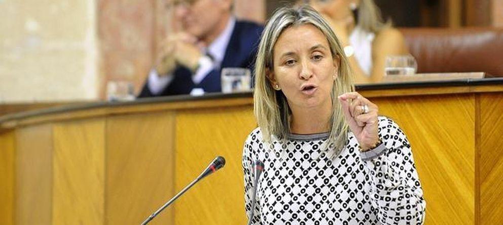 Foto: La parlamentaria andaluza Carolina González Vigo. (Efe)
