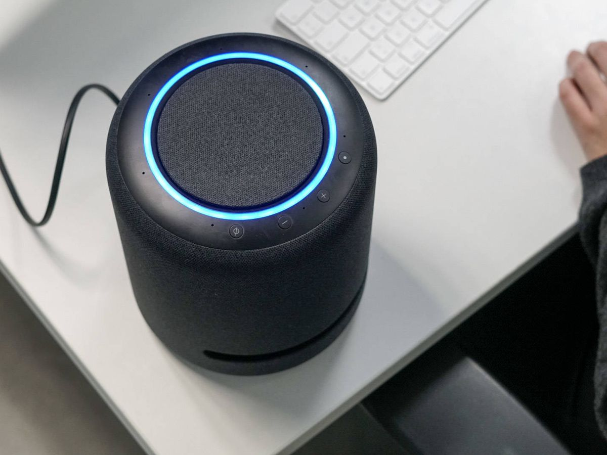 Foto: Amazon Echo Studio. (M. Mcloughlin)