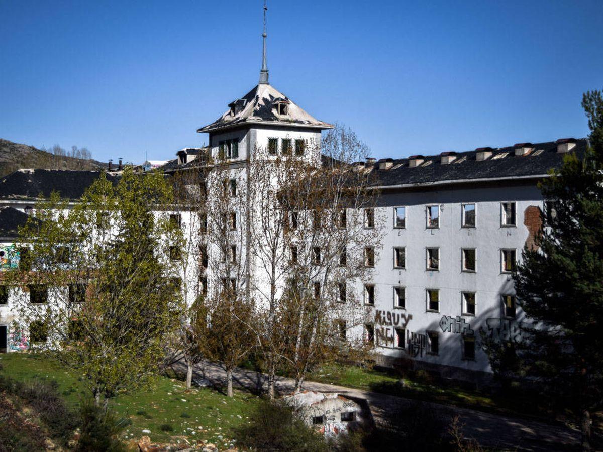 Foto: Antiguo Hospital La Barranca. (Carmen Torrecillas)