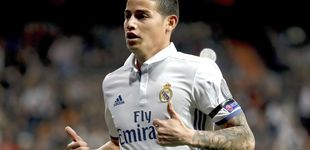 Post de El choque (de manos) de James a Zidane y la petición al Real Madrid