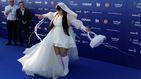Sol, sonrisas y música sobre la alfombra azul de Eurovisión