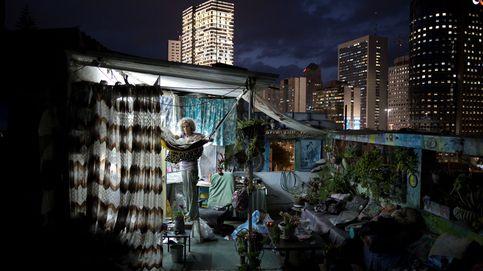Disfrutar de la buena vida en una azotea de Tel Aviv