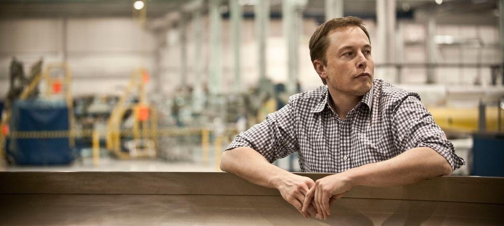 Musk, el hombre que quiere ser Iron Man