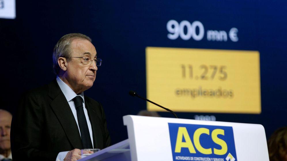 Foto: El presidente de ACS, Florentino Pérez, en un acto de la compañía. (EFE)