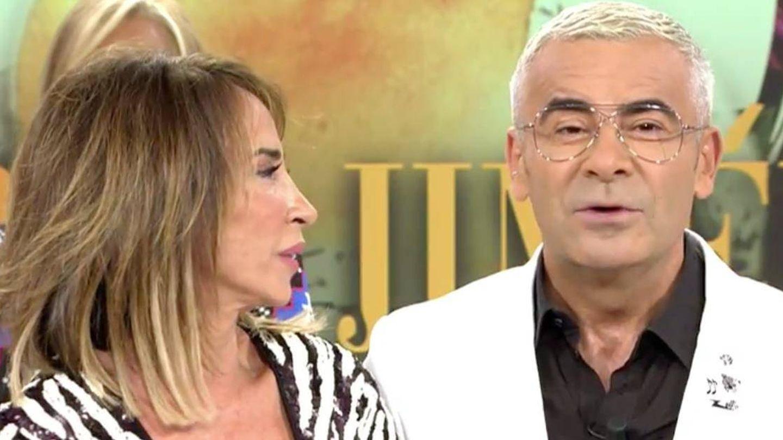 María Patiño y Jorge Javier. ('Sábado Deluxe').