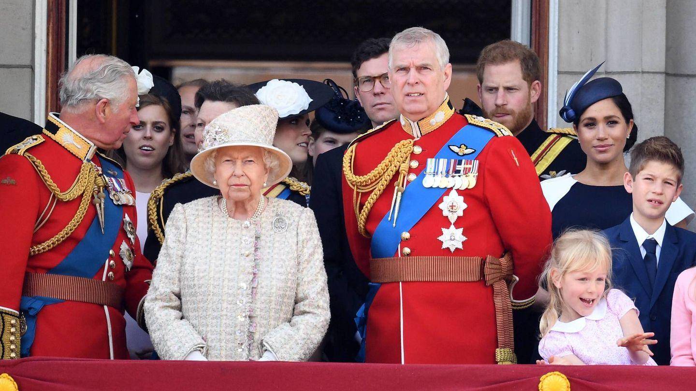El príncipe Andrés en el 'Trooping the Colour'. (Cordon Press)