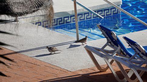 Abren diligencias por la muerte de un varón y dos menores en una piscina en Mijas