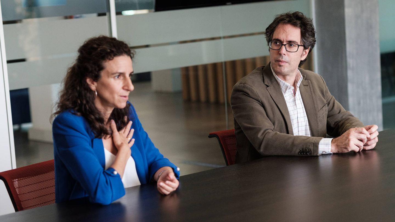 Los doctores Jorge Solís y Leticia Fernández-Friera. (S.B.)