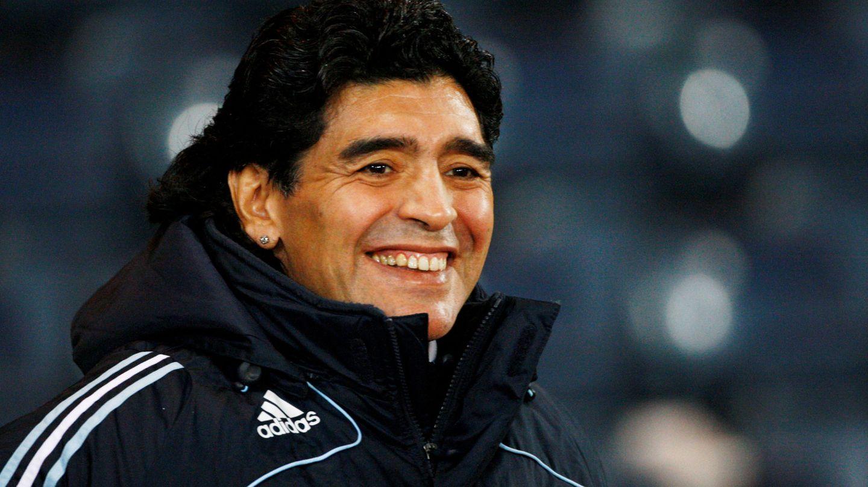 Maradona, en 2008. (Reuters)