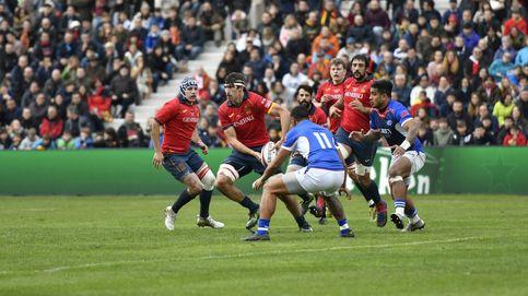 La contundencia de Samoa tumba a España (cinco lesionados) y alivia a World Rugby