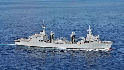 Una semana a bordo del Cantabria, el buque militar que España quiere exportar al mundo