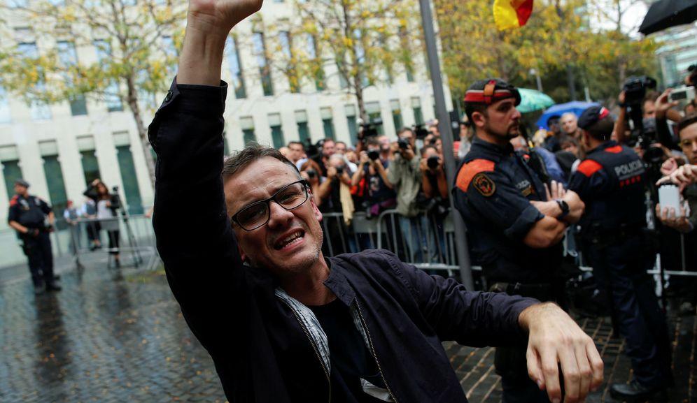 Foto: Josep Maria Jové, en las protestas de Barcelona en 2017. (Reuters)