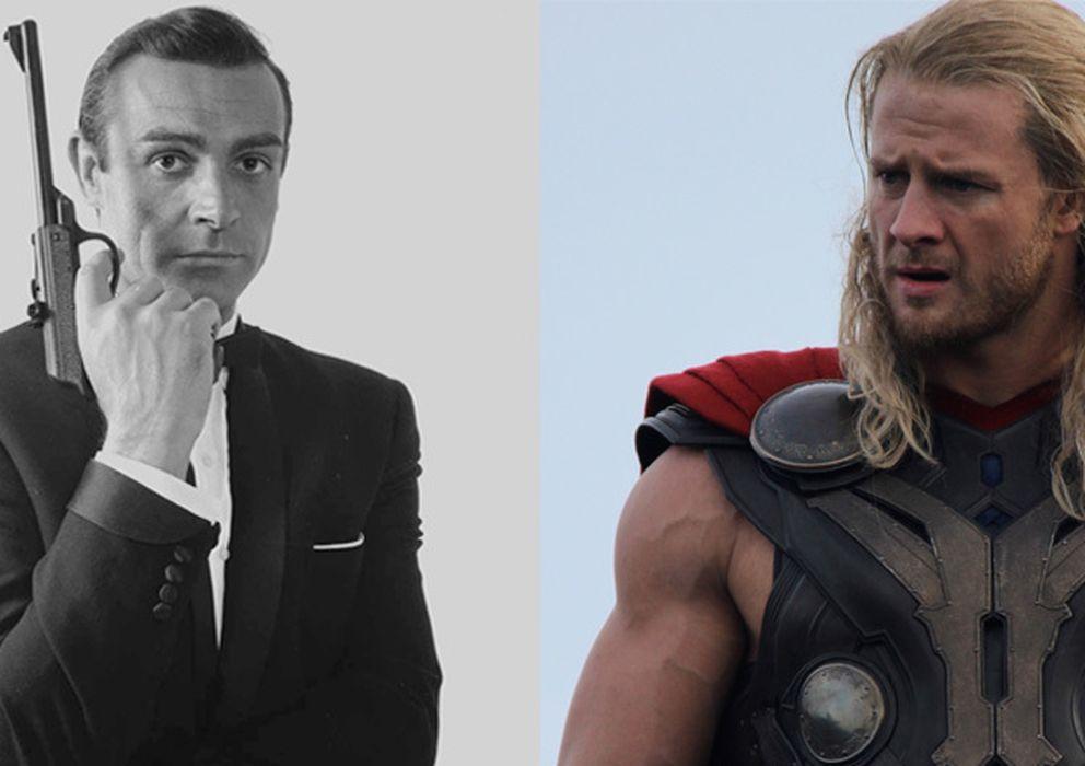 """Foto: Tanto Sean Connery como Chris Hemsworth han sido elegidos el hombre más sexy del mundo por la revista """"People""""."""