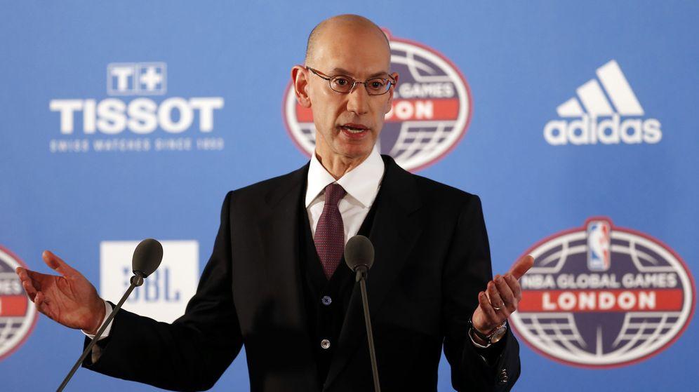 Foto: El comisionado de la NBA, Adam Silver (Matthew Childs/Reuters)