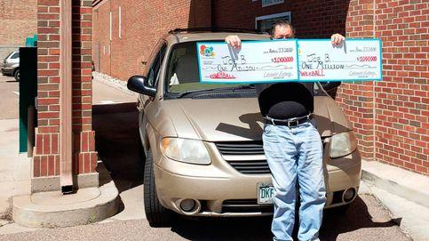 Gana la lotería dos veces el mismo día: un millón por la mañana y otro por la tarde
