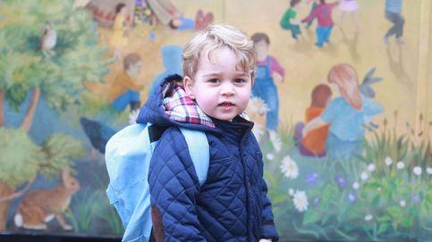 El príncipe George de Cambridge ya va al cole (y lo hace sin llorar)
