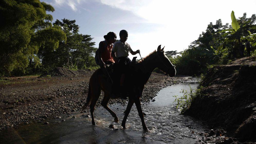 Foto: Indígenas en las montañas de Panamá. (EFE)