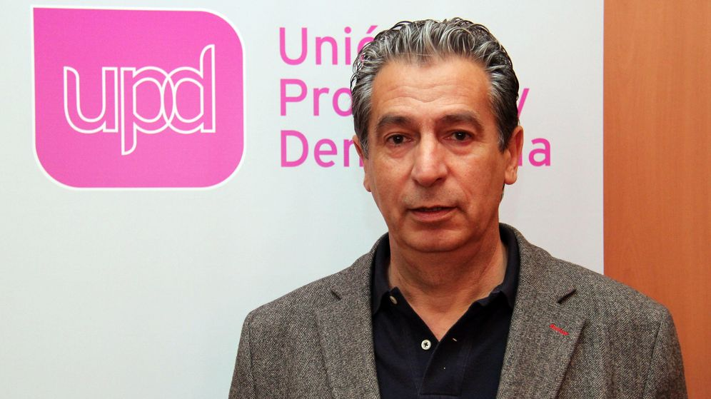 Foto: Manuel Vicente en su última formación, UPyD. (Foto: UPyD)