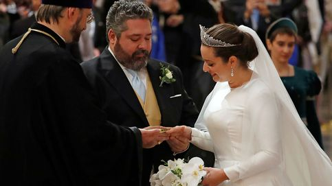 La fastuosa boda de Jorge Románov y Rebecca Bettarini en San Petersburgo