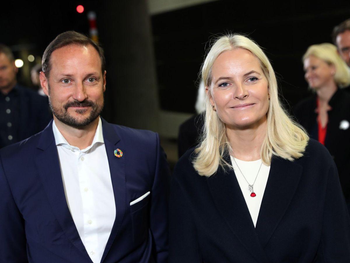 Foto: Los príncipes Haakon y Mette-Marit, en una imagen de archivo. (EFE)