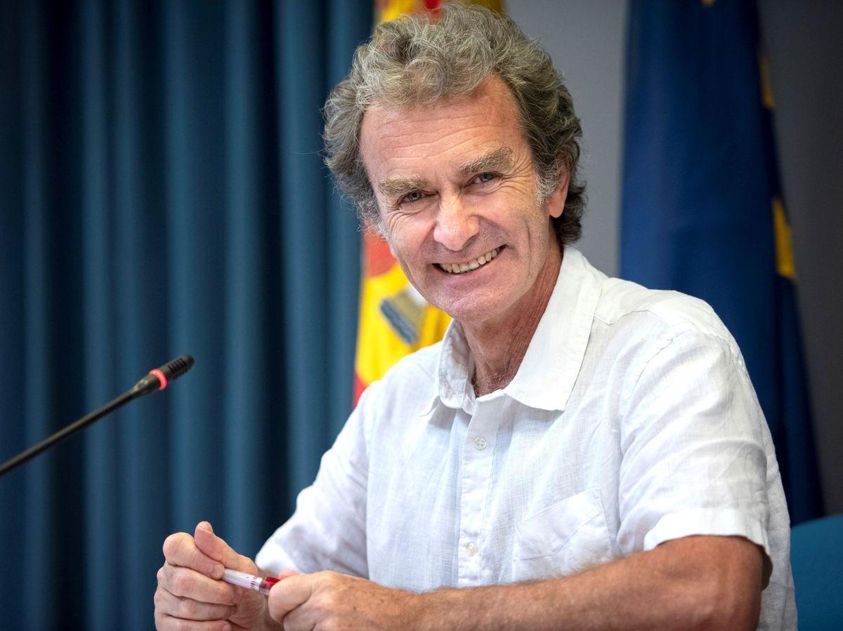 Foto: Fernando Simón ha reaparecido con un espectacular cambio de look. (EFE)