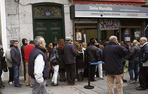 El gasto medio en lotería de Navidad 'online' crece este año hasta los 70 euros
