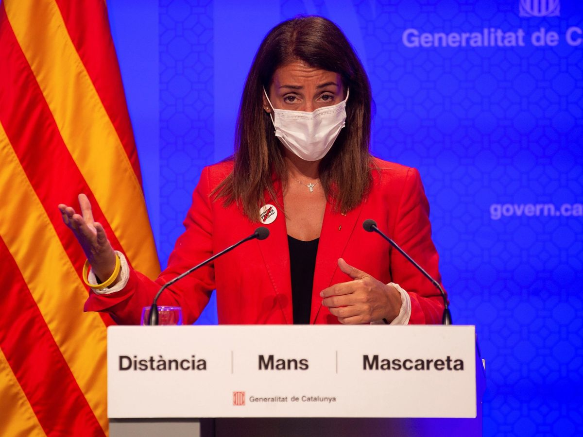 Foto: La 'consellera' de Presidencia, Meritxell Budó. (EFE)