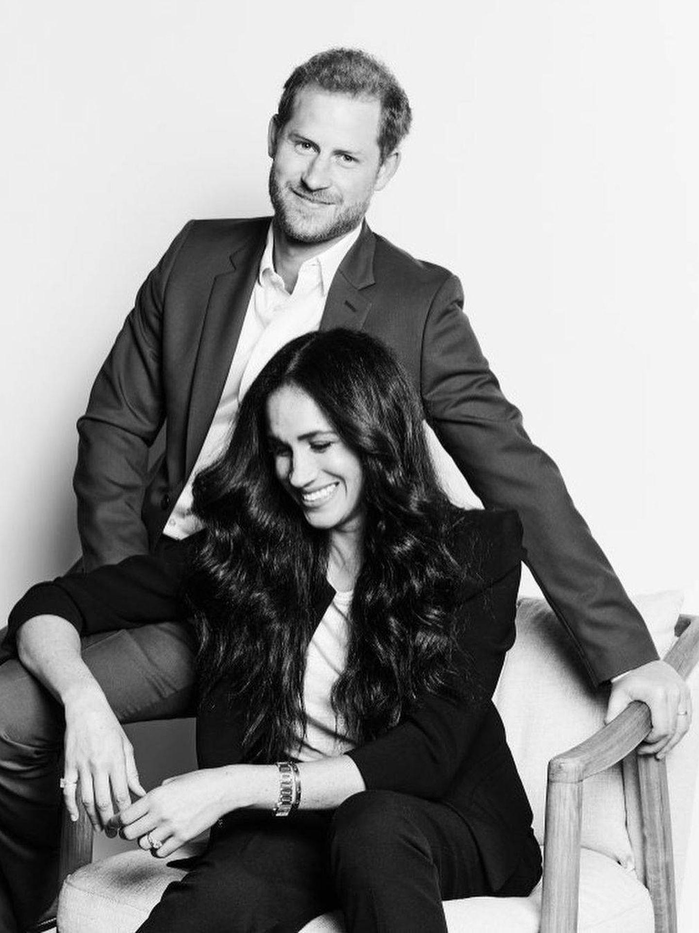 Meghan y Harry posan para la revista 'Time'. (IG)
