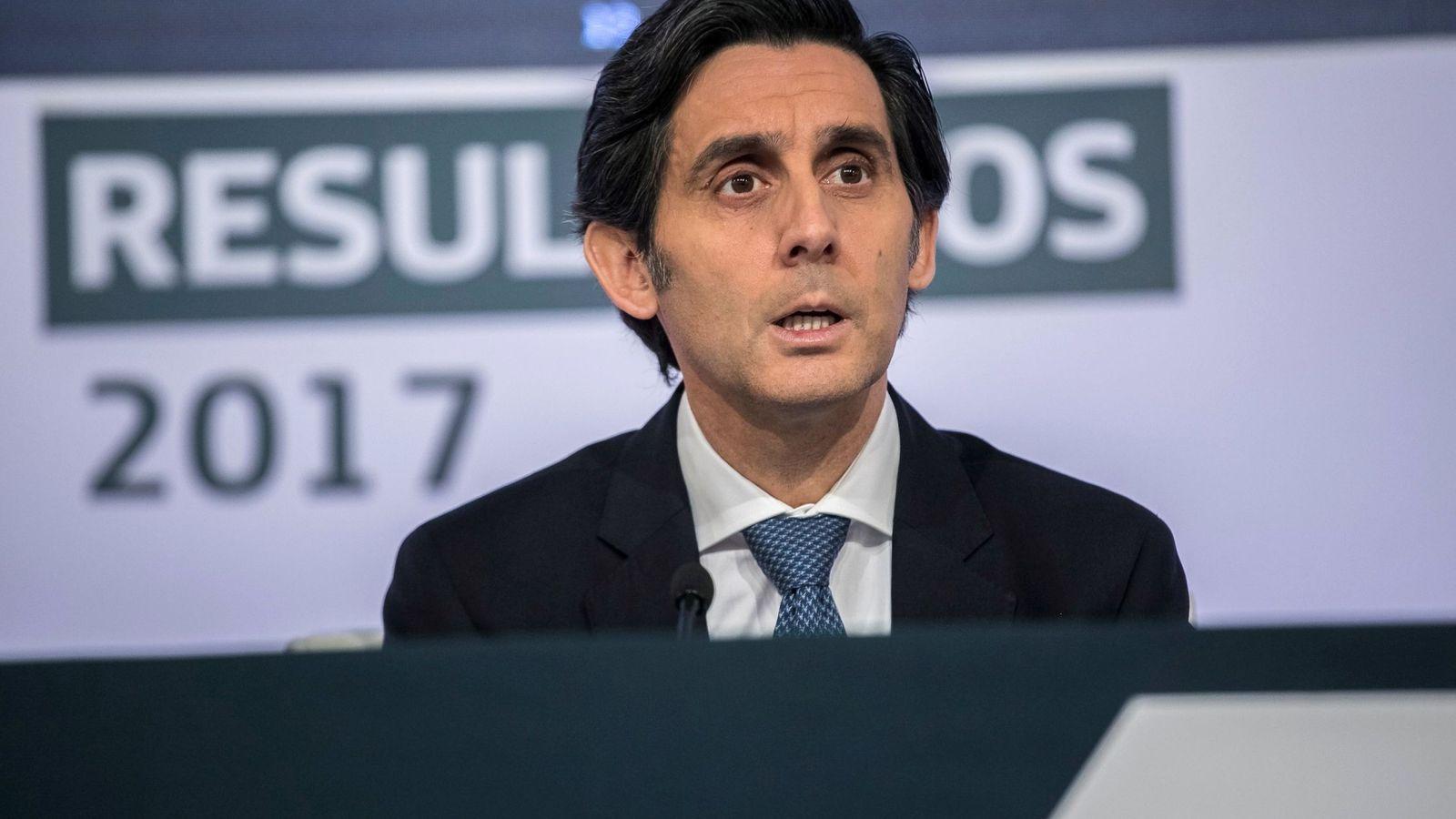 Foto: José María Álvarez-Pallete, presidente de Telefónica (Efe)