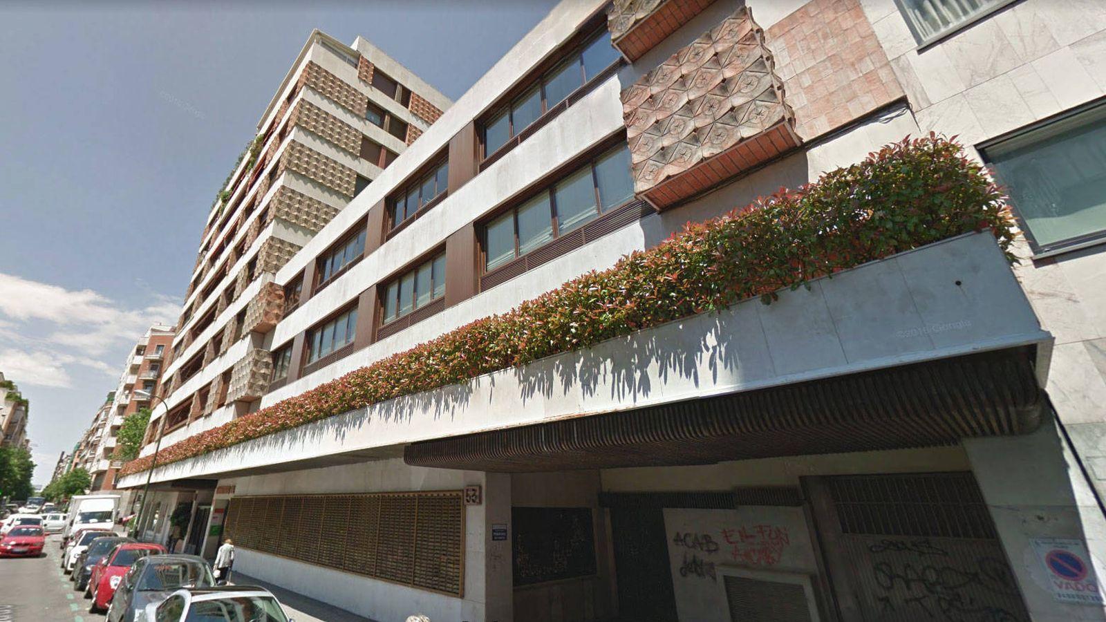 Foto: Fachada de la sede de UGT en Madrid.