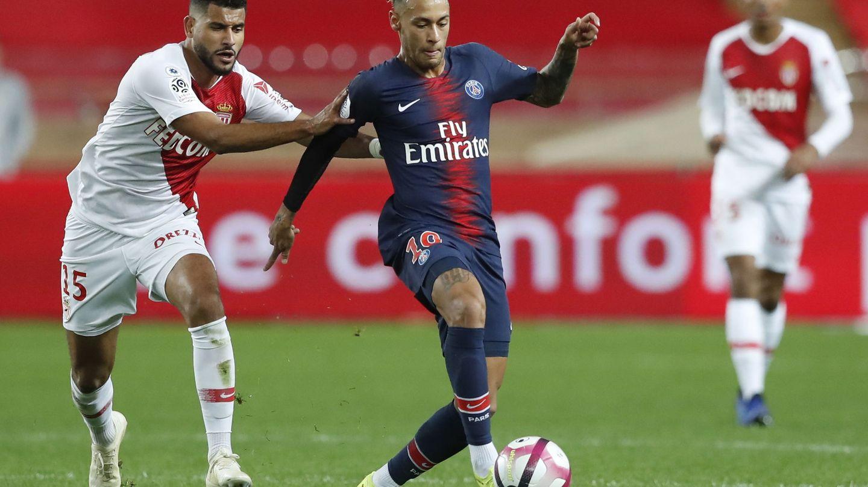 Neymar no está contento con el nivel competitivo de la Ligue 1. (EFE)