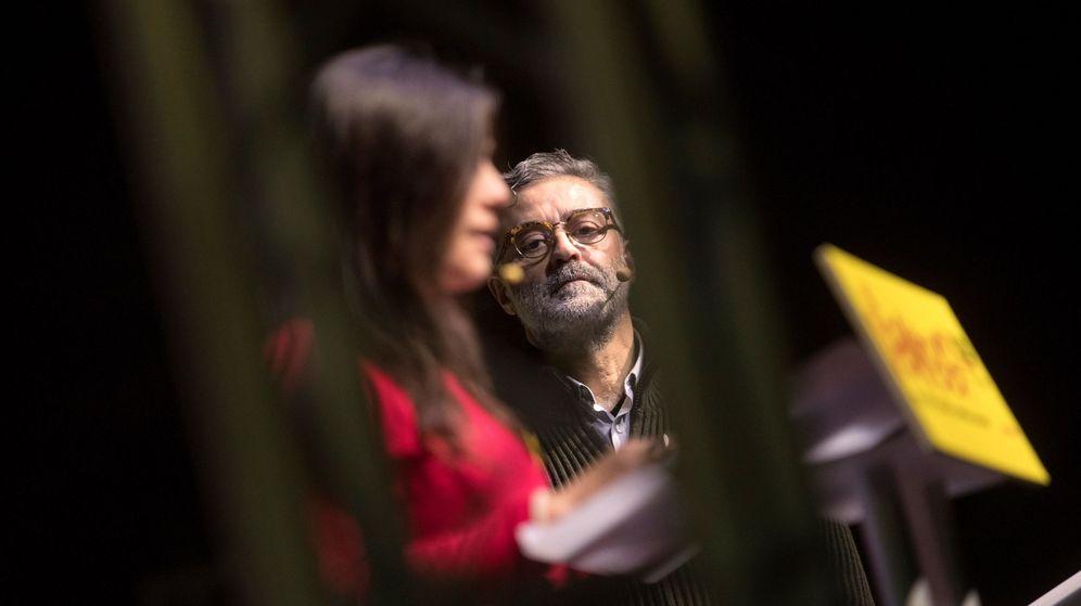Foto: El cabeza de lista de la CUP, Carles Riera. (EFE)