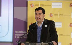 Rajoy se inclina por Moreno en PP-A y desautoriza la apuesta de Cospedal por Sanz en el PP-A