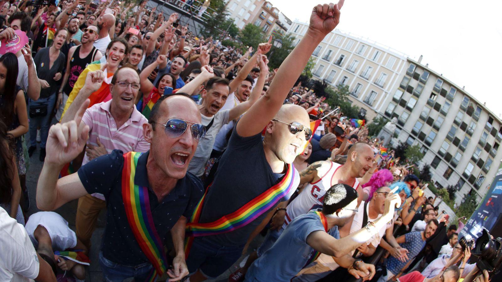 Foto: Imagen de archivo del Orgullo en Madrid (EFE)