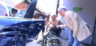 Post de Chelo García Cortés, trasladada al hospital tras una aparatosa caída