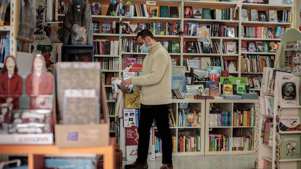 Foto: Librería La Traca, en Valencia (EFE)