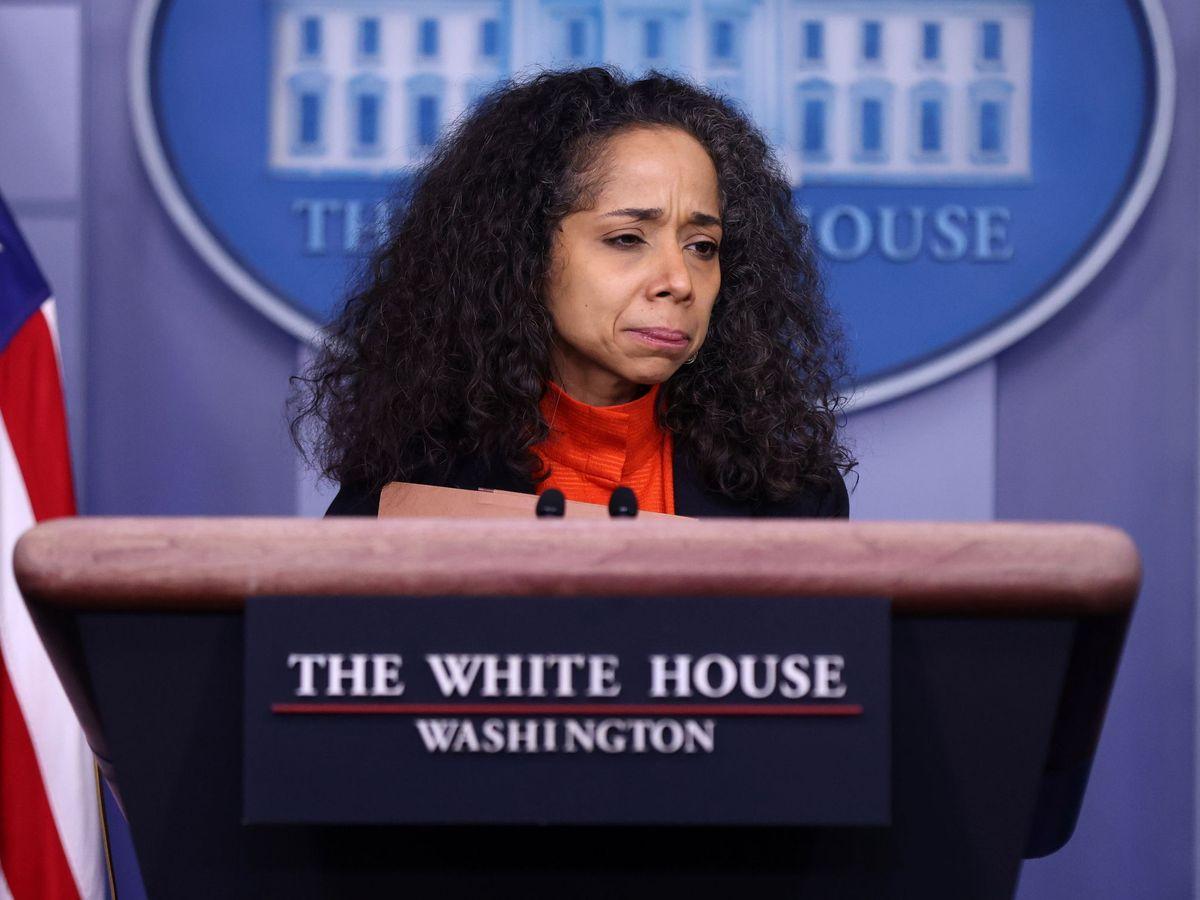 Foto: Julissa Reynoso Pantaleon, en la Casa Blanca. (Reuters)