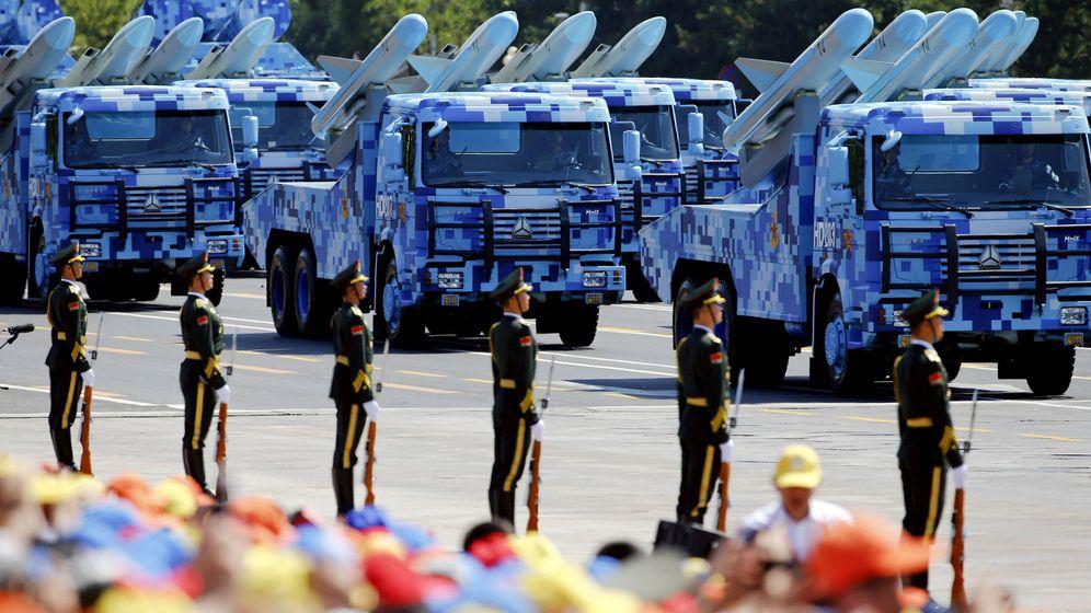 Foto: Desfile militar chino. (Reuters)