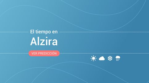 El tiempo en Alzira para hoy: alerta amarilla por fenómenos costeros