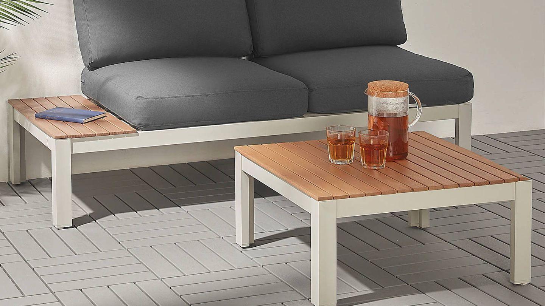 Decora tu espacio exterior con estas mesas auxiliares de Ikea. (Cortesía)