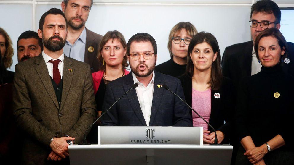 ERC reclama al Gobierno que abandone la vía penal si quiere apostar por el diálogo