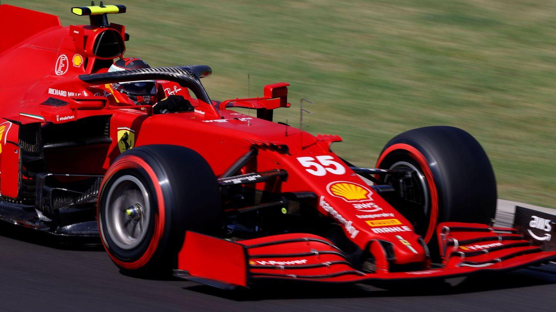 Un fallo provocado por una ráfaga de viento provocó que Sainz no pudiera progresar a la fase final de la clasificación.