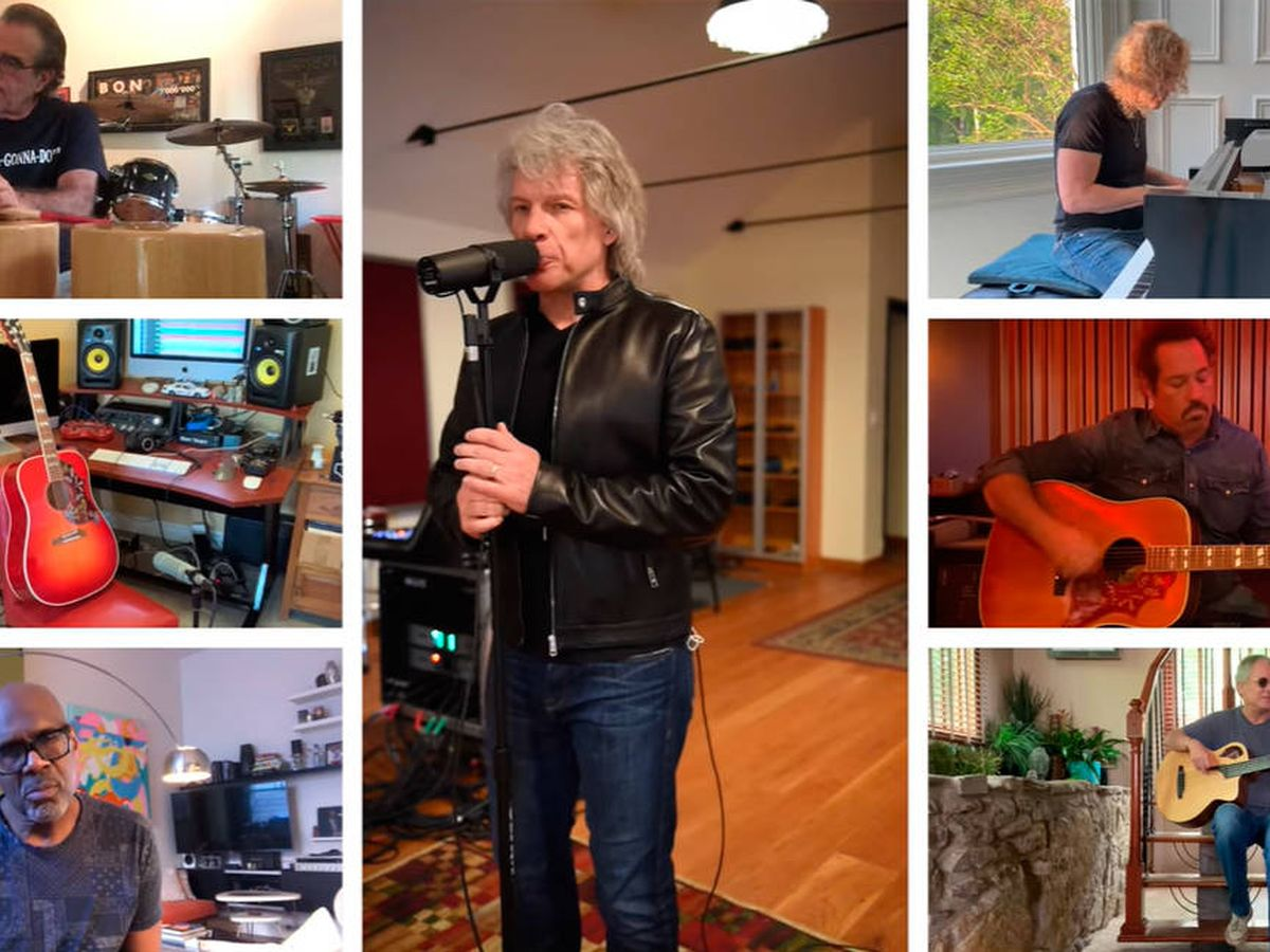 "Foto: Bon Jovi se reunió para tocar ""It's my life"" en un evento benéfico para recaudar fondos (Foto: YouTube)"