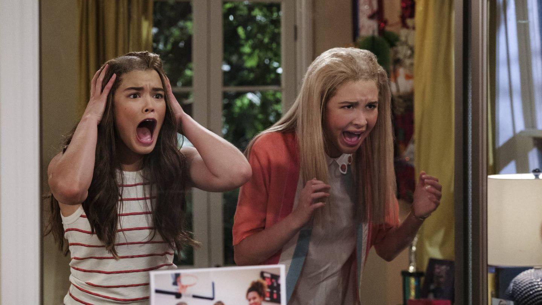 Imagen de la comedia 'Alexa and Katie'. (Netflix)