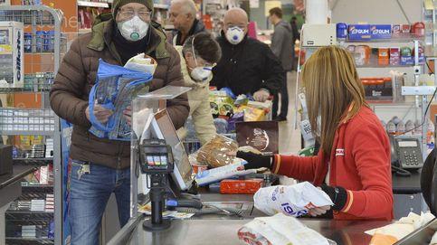 Un quinto muerto por coronavirus en Italia: el norte del país, desabastecido