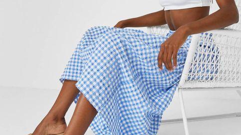 La falda vichy de Stradivarius que están comprando en masa las expertas en moda