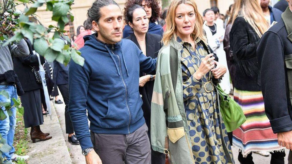 Foto: Marta Ortega y Carlos Torretta acuden al desfile de Valentino en París. (Getty)