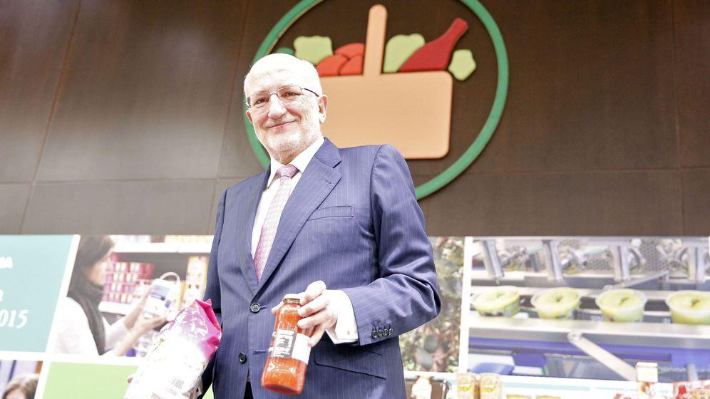 Foto: Juan Roig, en la última presentación de resultados de Mercadona. (EFE)