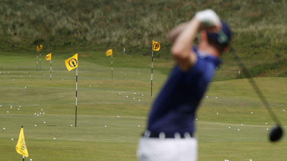 Foto: El golf era el deporte que más unía a este padre con su hija (Reuters/Paul Childs)