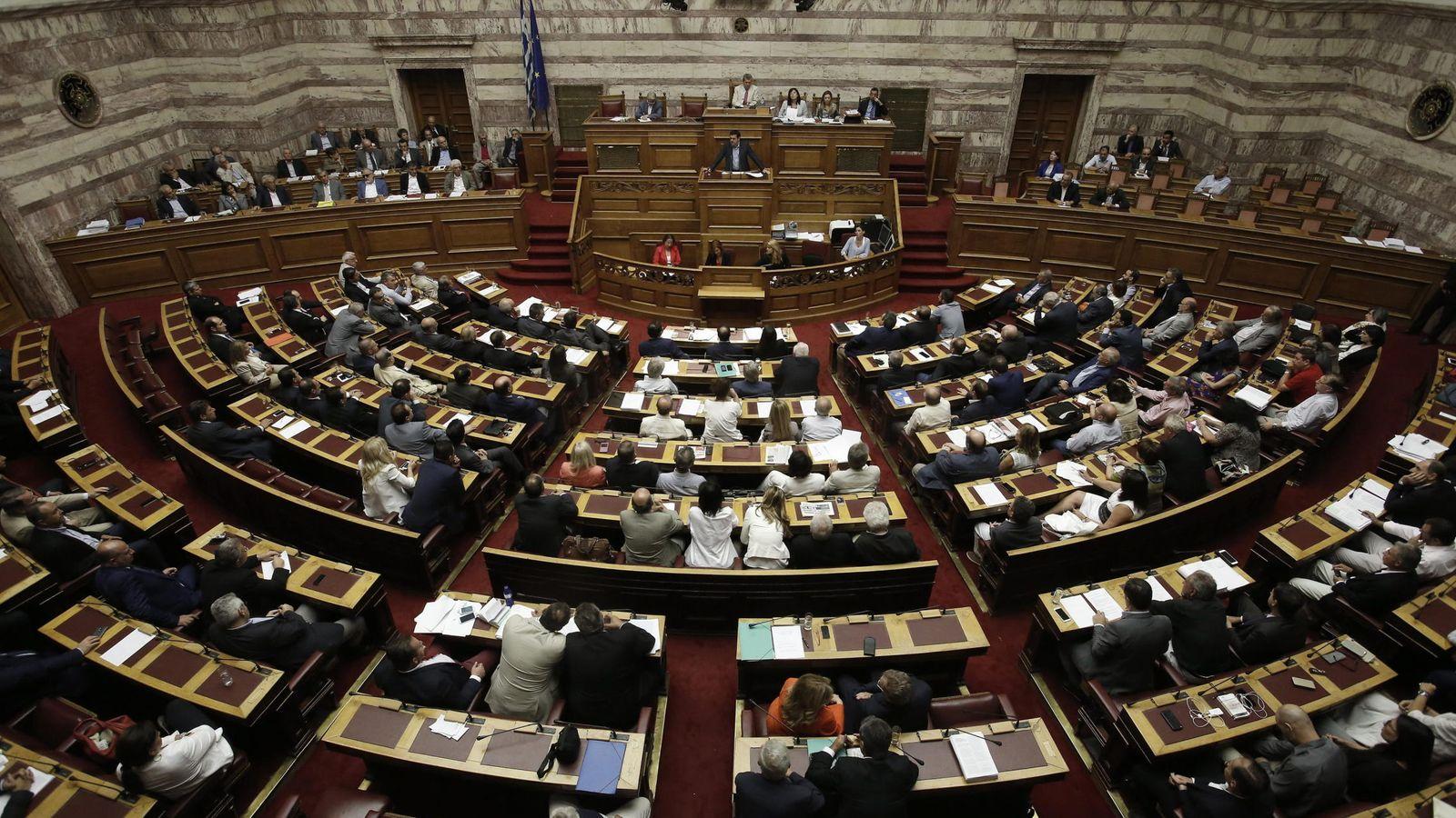 Foto: Imagen de archivo del Parlamento griego (EFE)